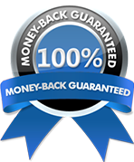 100%Money Back Guaranteed
